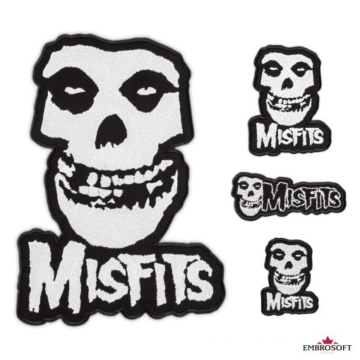 The Misfits rock band patch collage
