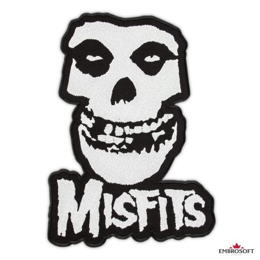 The misfits large patches for back frontal