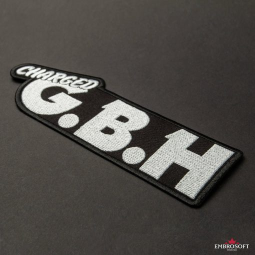 Embroidered GBH Charged Logo inclined