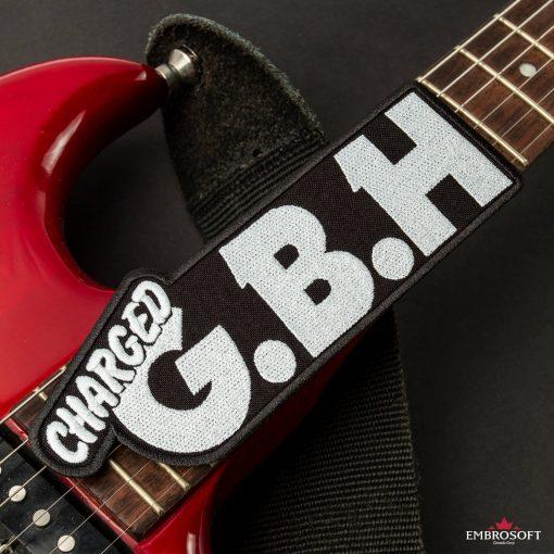 G.B.H. Charged Logo guitar neck