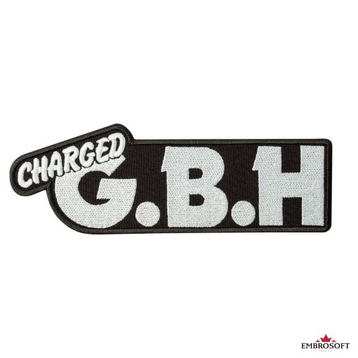 G.B.H. Charged Logo patch frontal