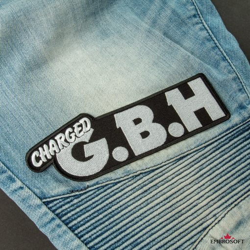 G.B.H. Charged Logo patches for jeans
