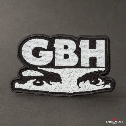 G.B.H. Charles Manson Logo LARGE black background