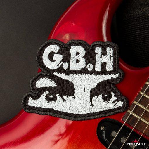 G.B.H. Charles Manson Logo SMALL guitar edge