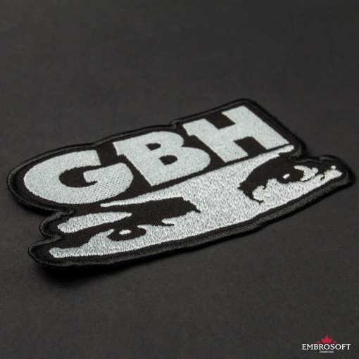 G.B.H. Charles Manson Logo embroidery big incline