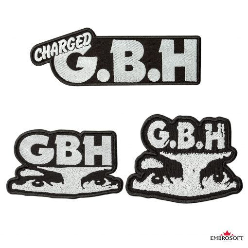 GBH frontal embroidered patches x