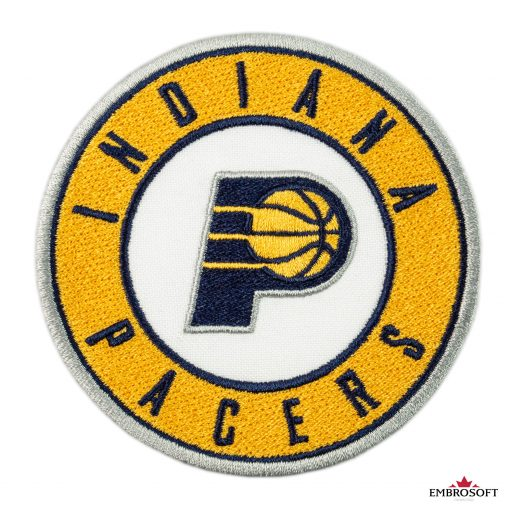 Indiana Pacers NBA Emblem patch frontal
