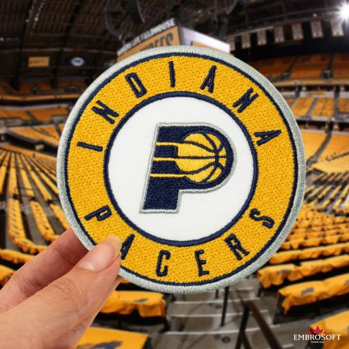 Indiana Pacers NBA Logo stadium patches