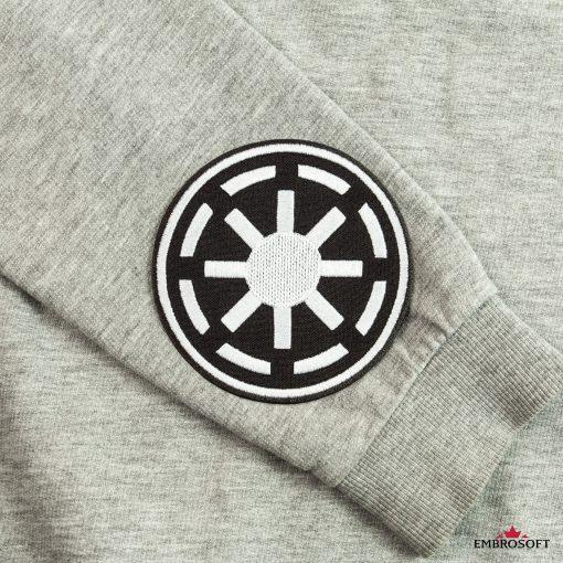 Star Wars Galactic Republic Logo gray sleeve