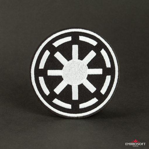 Star Wars Galactic Republic Logo lack background