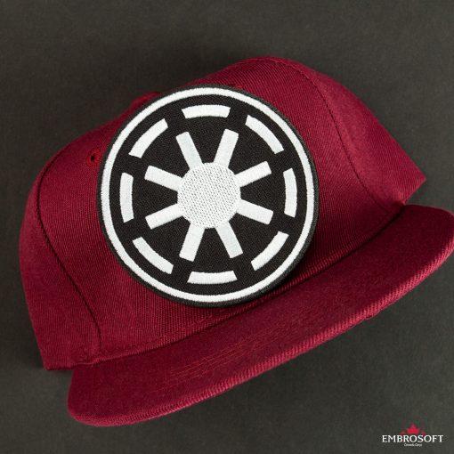Star Wars Galactic Republic Logo red cap