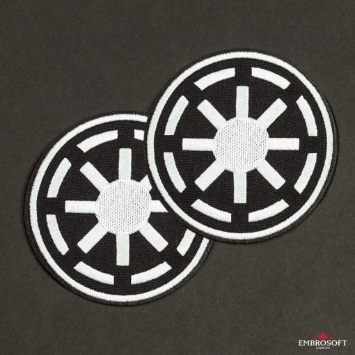 Star Wars Galactic Republic Logo two black background