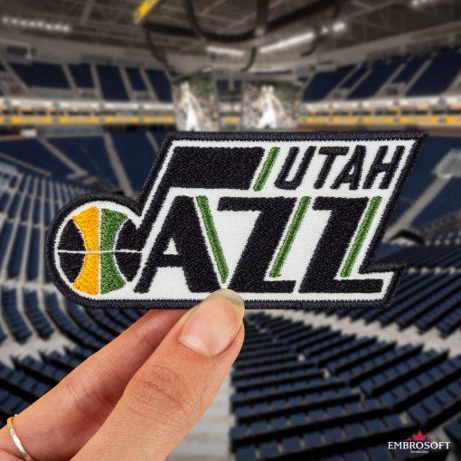 Utah Jazz NBA Logo stadium sports patch