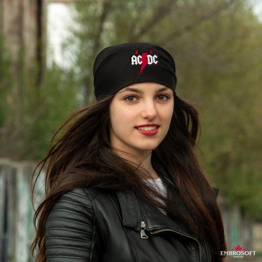 bandana black acdc