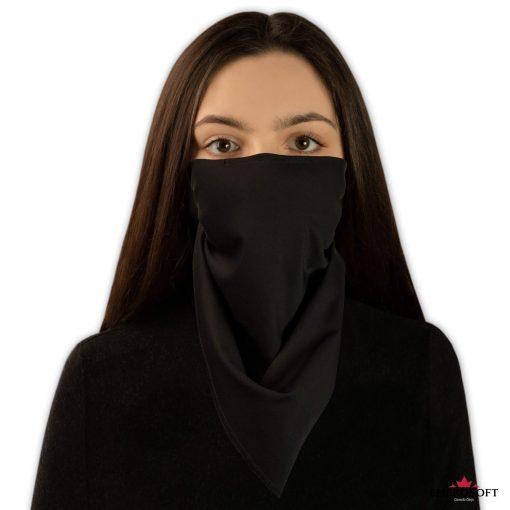 bandana black frontal