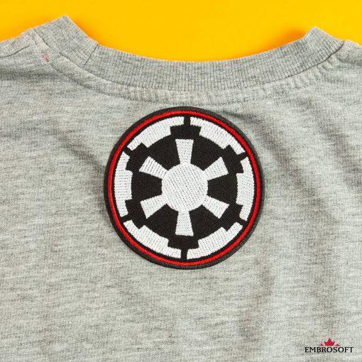 star Wars Galactic Empire Logo gray jacket
