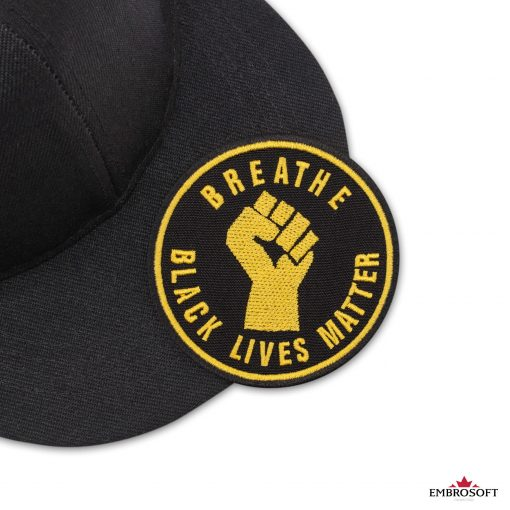 Breathe Black Lives Matter black cap