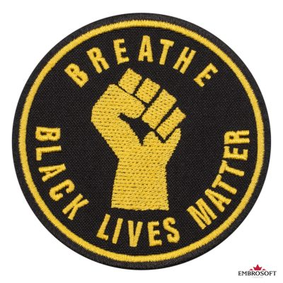 Breathe Black Lives Matter frontal