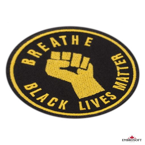 Breathe Black Lives Matter incline