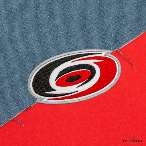 Carolina Hurricanes NHL jeans and red