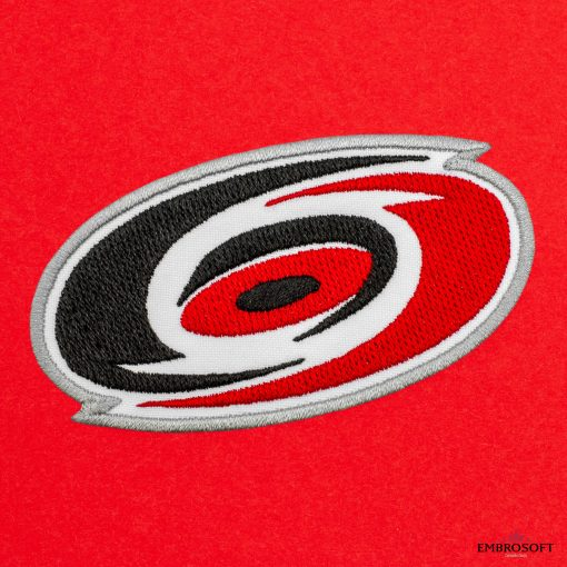 Carolina Hurricanes NHL red background