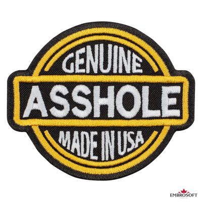 Genuine Asshole Made in USA frontal