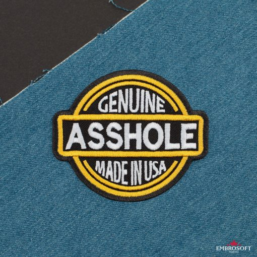Genuine Asshole Made in USA jeans