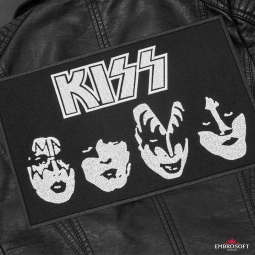 KISS BlackWhite Leather Jacket