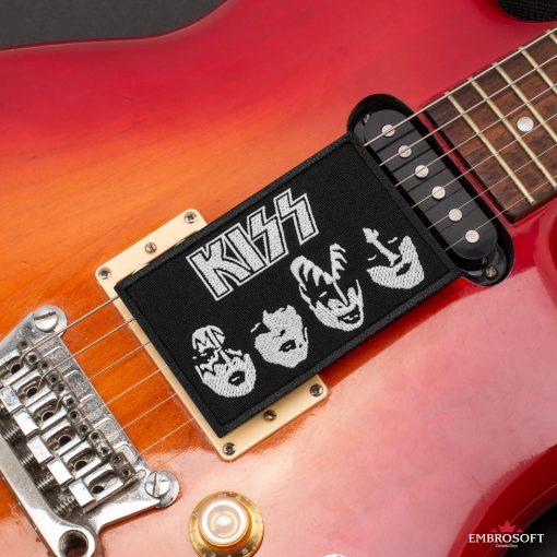 KISS BlackWhite guitar