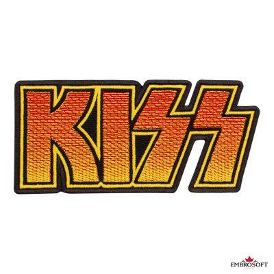 KISS Logo Gradient frontal