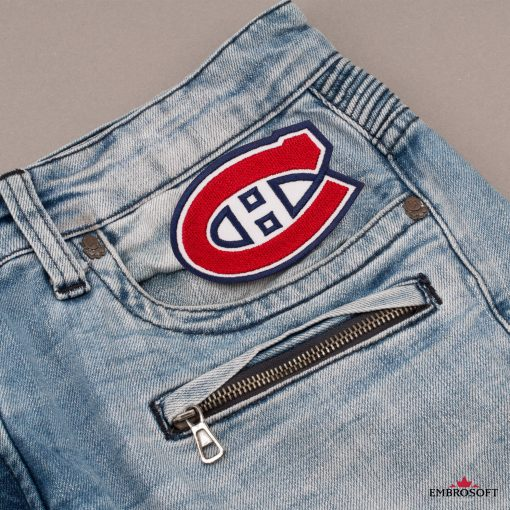 Montreal Canadiens front jeans pocket