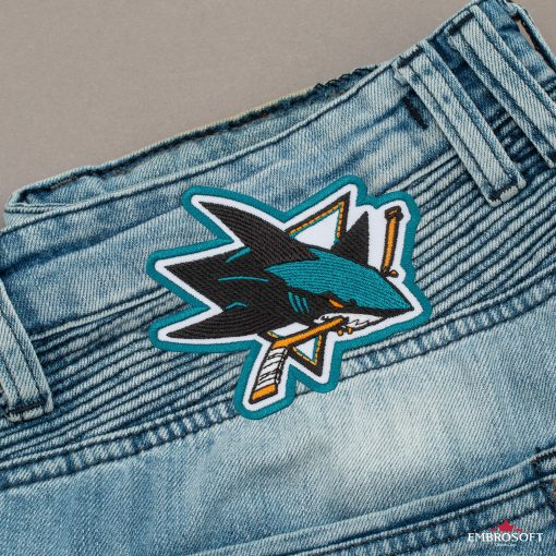 San Jose Sharks NHL back jeans