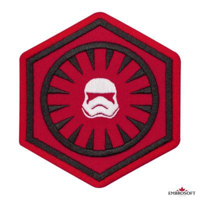 Star Wars First Order Logo frontal