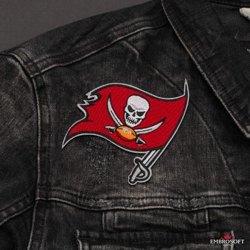 Tampa Bay Buccaneers NFL jeans jacket