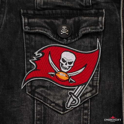 Tampa Bay Buccaneers NFL pocket jeans jacket