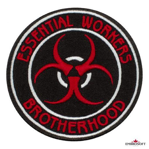 Essential workers brotherhood frontal