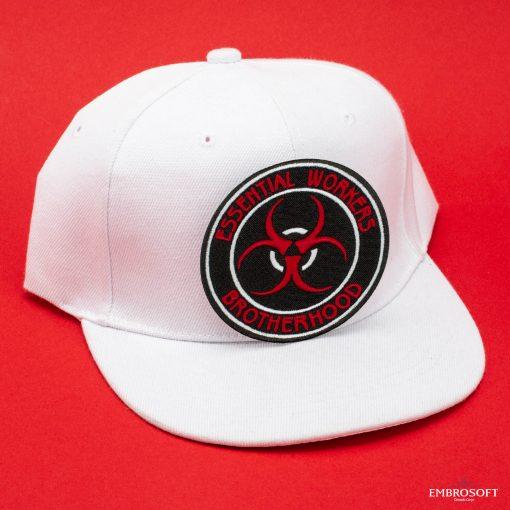 Essential workers brotherhood white cap