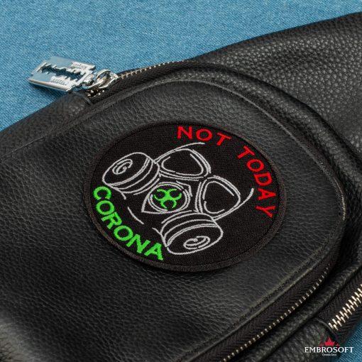 Not today corona black bag