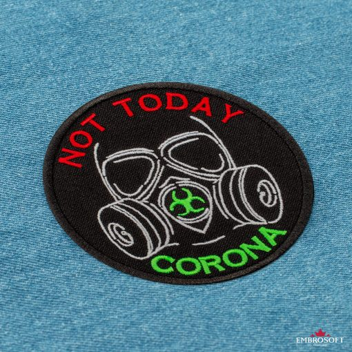 Not today corona incline jeans background