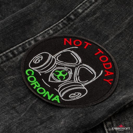 Not today corona jeans sleeve