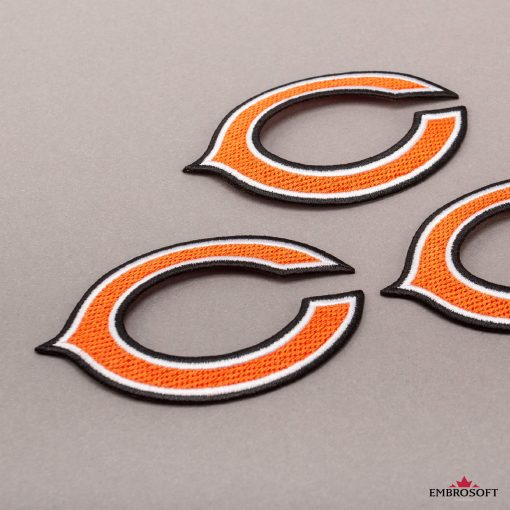 Chicago Bears NFL gray background