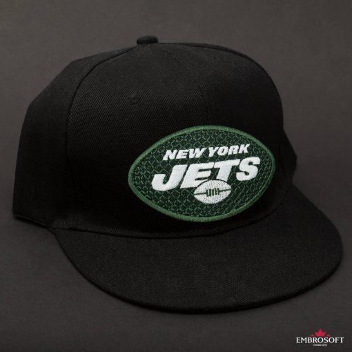 New York Jets NFL black cap