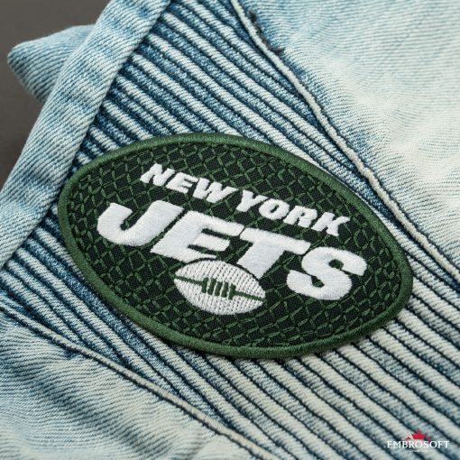 New York Jets NFL front jeans