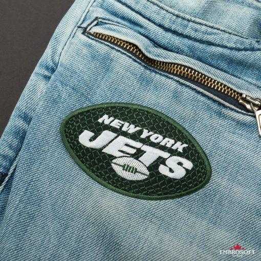 New York Jets NFL front jeans pocket