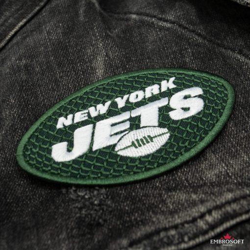 New York Jets NFL jeans jacket