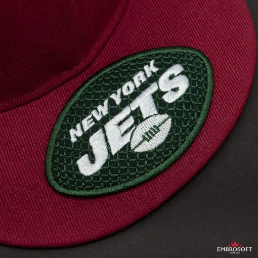 New York Jets NFL red cap
