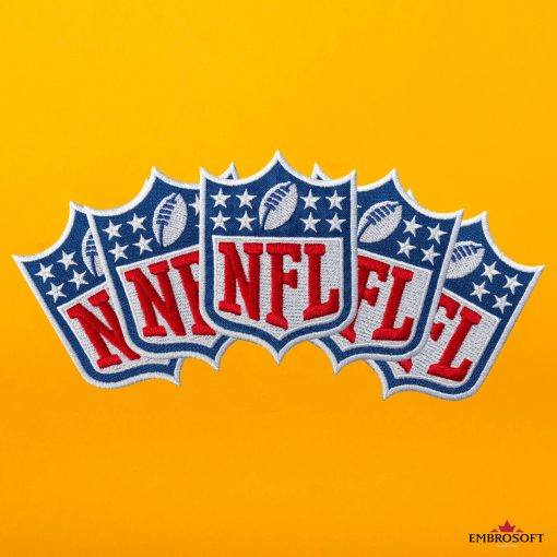 nfl collage yellow background