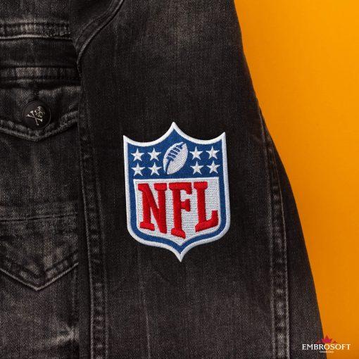 nfl sleeve jeans jacket
