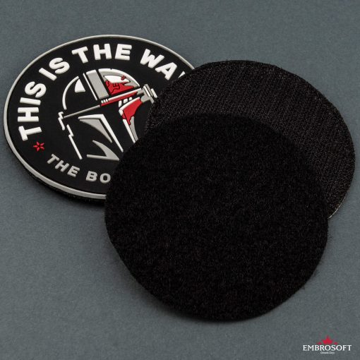 Star Wars This is The Way The Bounty Hunter Velcro