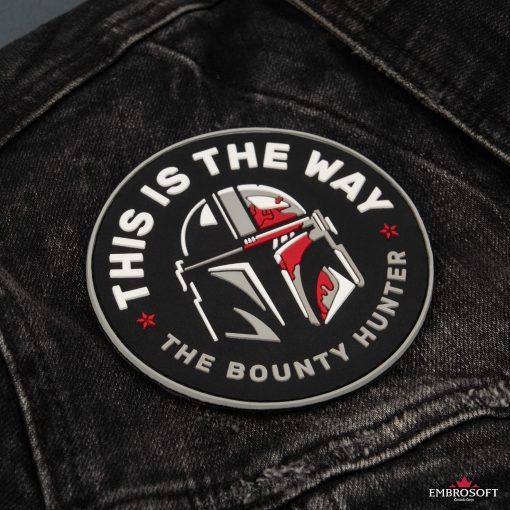 Star Wars This is The Way The Bounty Hunter black jeans